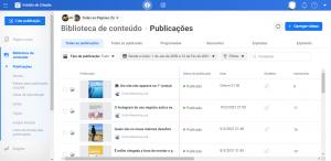 O Estúdio de Criação do Facebook é uma excelente plataforma para agendar publicações